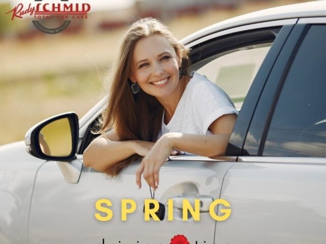 Spring Driving Tips from Rudy Schmid