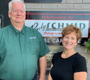 Diane and PJ from Rudy Schmid Total Car Care in Syracuse NY