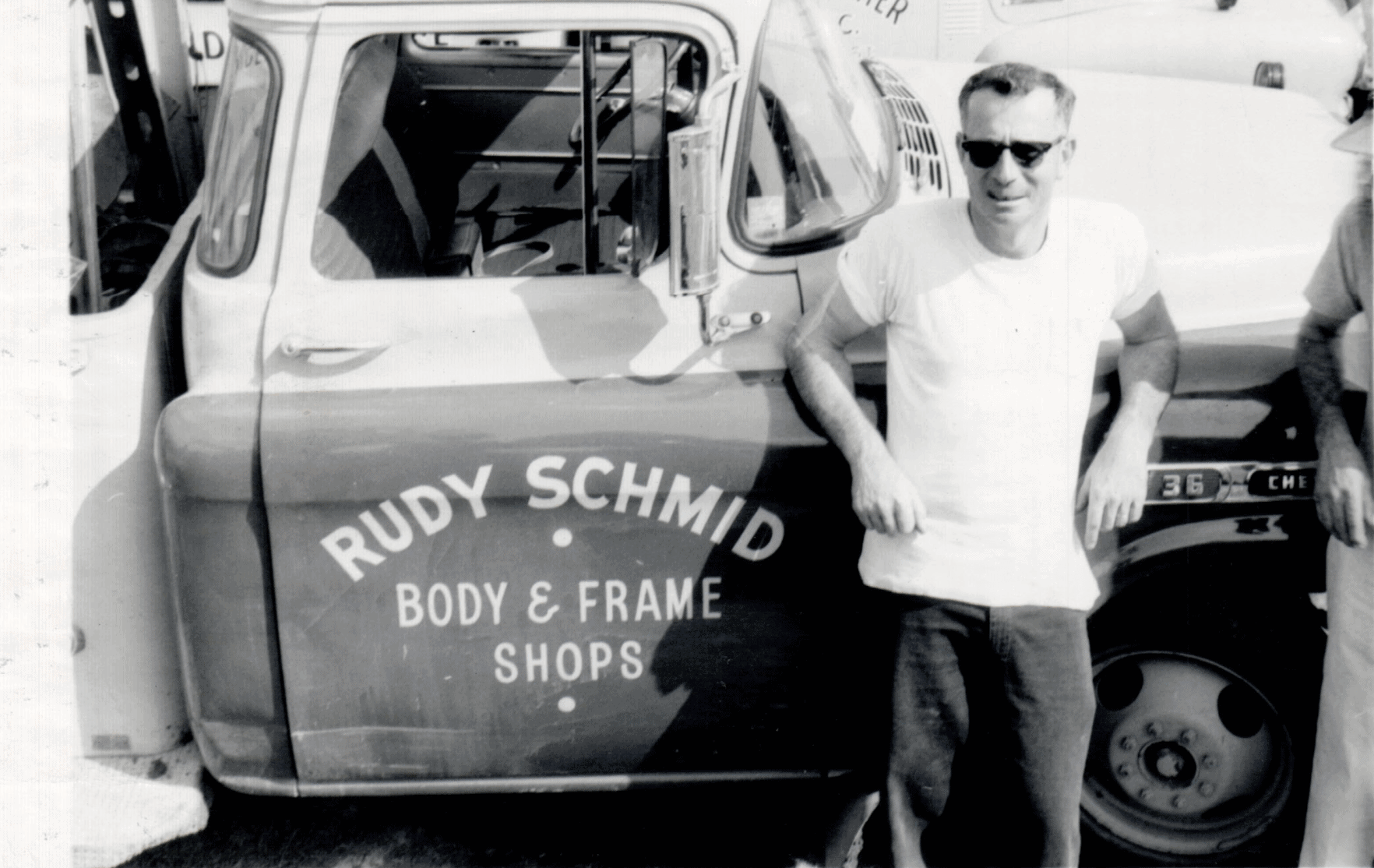 Rudy Schmid body and frame shop photo from Syracuse NY