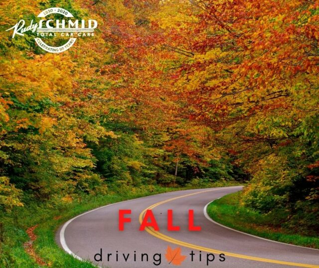 Fall Driving Tips from Rudy Schmid